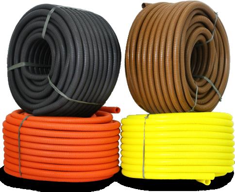 eletroduto flexivel corrugado